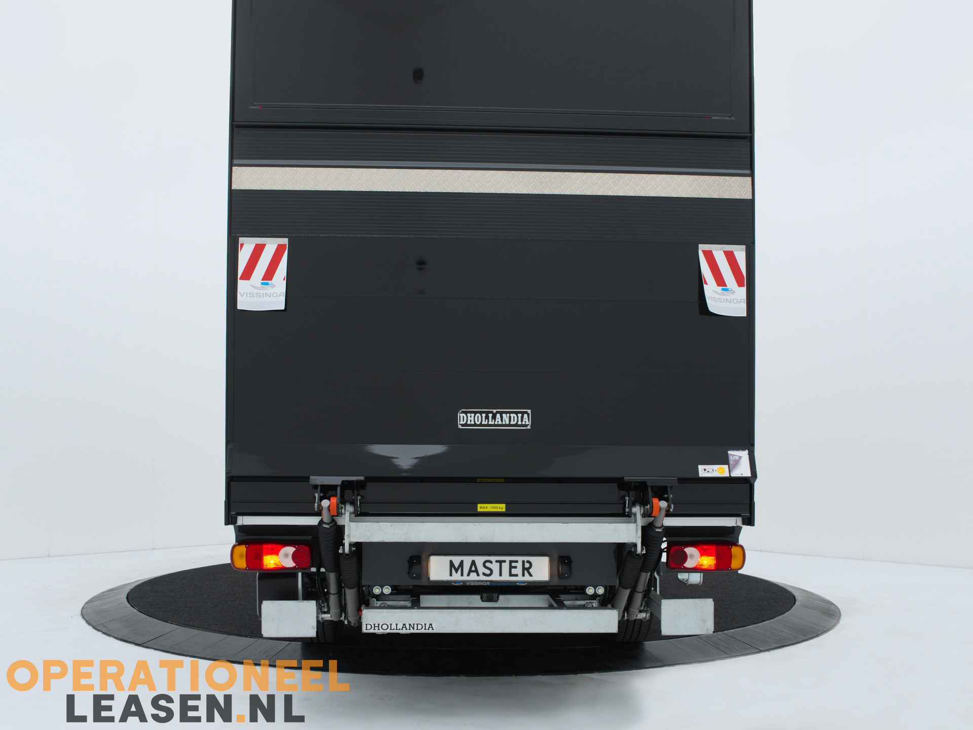 Operational lease zwarte bakwagen-12